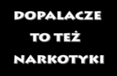 Dopalacz to też narkotyk - VIDEO
